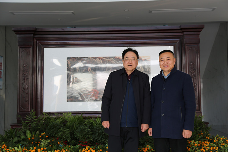 Kmnpack Warmly Welcome Academician Qian Yitai to Visit And Discuss Cooperation